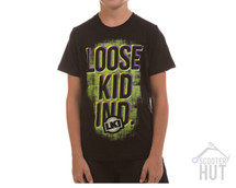 LKI Wedge Tee Youth | Black