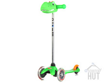 Mini Micro Scooter with cheeky scoot head example