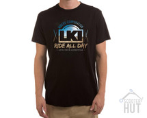 LKI Ride All Day Tee | Black