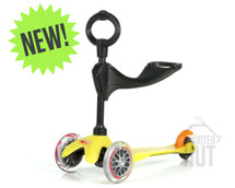 Mini Micro 3 in 1 Kids Scooter | Yellow