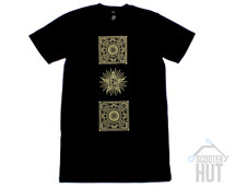 Scooter Hut Mandala TALL Tee | Adult
