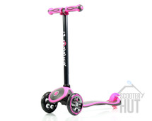 Globber My Free Titanium | 3 Wheeled Kids Scooter | Pink