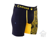 Canvas Exclusive Underwear | Black / Gold Paisley