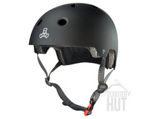 Triple 8 Certified Brainsaver Helmet | All Black Rubber