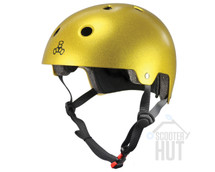 Triple 8 Certified Brainsaver Helmet | Gold Flake