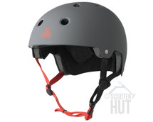Triple 8 Certified Brainsaver Helmet | Gun Matte Rubber