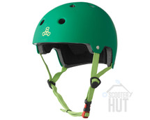 Triple 8 Certified Brainsaver Helmet | Kelly Green Rubber