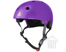 Triple 8 Certified Brainsaver Helmet | Purple Glossy