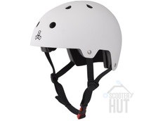 Triple 8 Certified Brainsaver Helmet | White Rubber