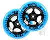 Proto Day-Glo Slider 110mm Wheels | Blue