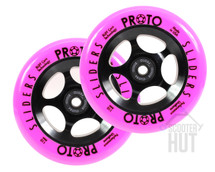Proto Day-Glo Slider 110mm Wheels | Pink