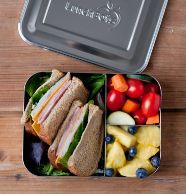 LunchBots Bento Stainless Container  - Trio