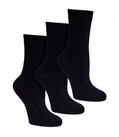 Bamboo Active Unisex Socks Black (pack of 3) - Bam Bamboo