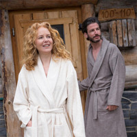 Organic Cotton Bathrobe - Living Crafts