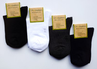 Organic School Uniform - Organic Cotton Ankle Socks