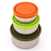 Trio Containers Set of 3 in Moss - U Konserve