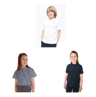Organic School Uniform - Unisex Polo Shirt