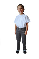 Organic School Uniform - Girl Grey Trousers Classic Fit