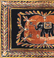 Heavy Handwoven Elephant Batik