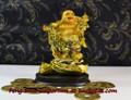 Buddha on Money Bags | Feng Shui Emporium