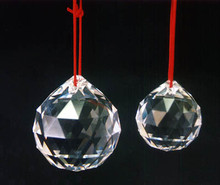 Clear, Faceted Swarovski Feng Shui Crystals, Special Sale Prices