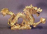 Brass Abundance Dragon