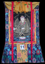 Guru Rinpoche Padmasambava Thangka, Gold