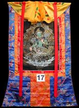 Green Tara Thangka, Gold #17