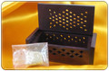 Amber Resin Incense in Rosewood Box