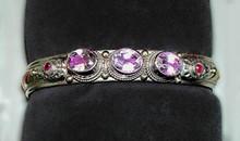 Tibetan Medicine Bracelet with Five Semi-Precious Stones