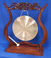 Genuine Chinese Gong with Stand, 3.5 feet high.