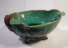 Lotus Leaf Ceramic Bowl
