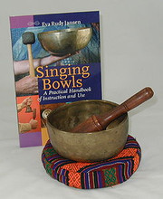 Singing Bowl Set with Book