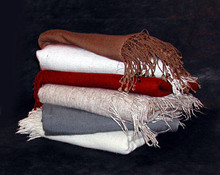 Soft and warm, the very best in Pashmina wool shawls were brought to us by a dear friend who is a Tibetan monk.