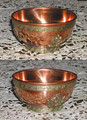 Tibetan Copper Bowl, single or in sets of 7