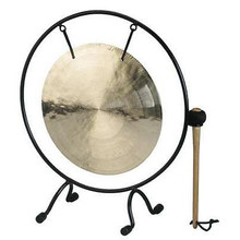 Gong With Metal Stand