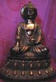 Large Brass Buddha