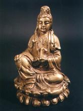 Kuan Yin Seated, Bronze