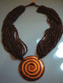 Powerful Spiral Necklace