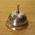 Ornate Brass Desk Bell