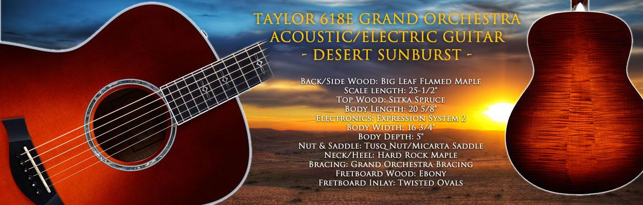 Taylor 618e Acoustic Guitar