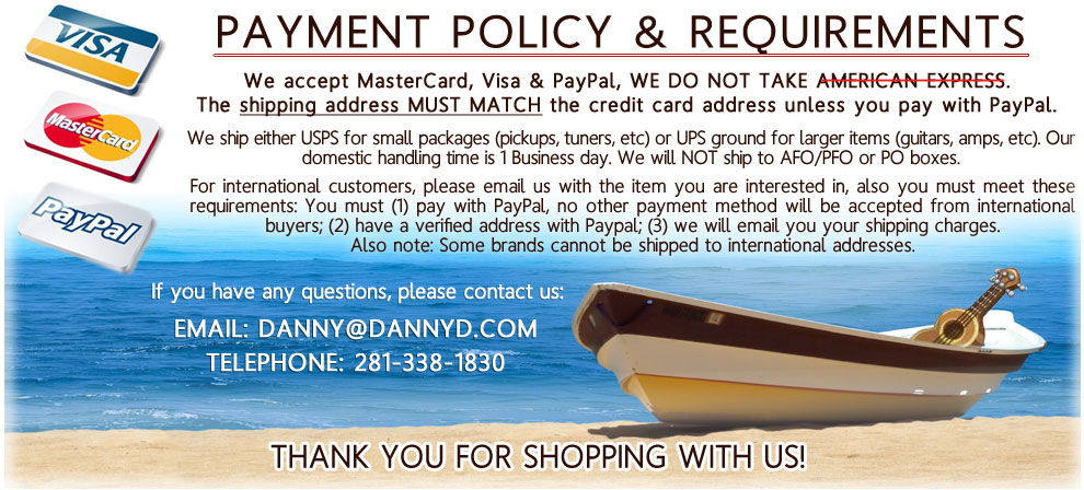 Payment Policy Information