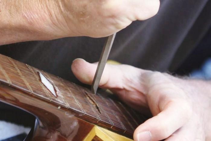 Giannini Brazilian 12-String Inlay & Refret