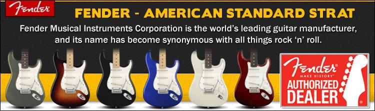 American Standard Stratocasters