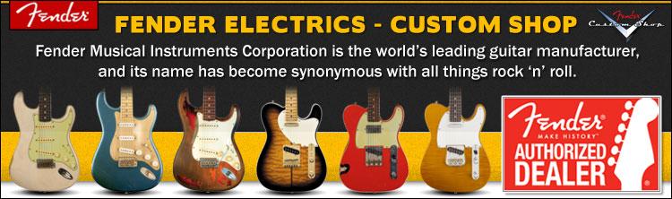 Fender Custom Shop Electric Guitars