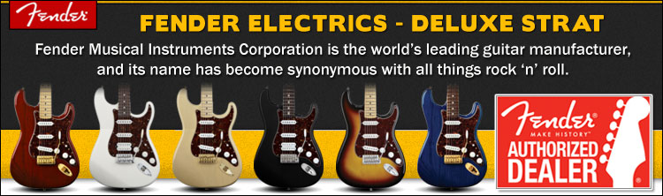 Fender Deluxe Stratocaster Electric Guitars