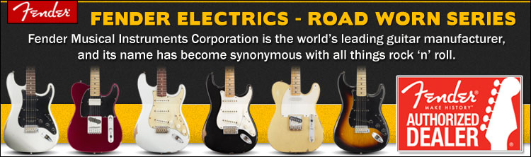 Fender Road Worn Electric Guitar Series
