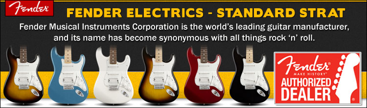 Fender Standard Stratocaster Electric Guitars