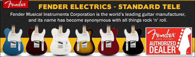Fender Standard Telecaster Electric Guitars