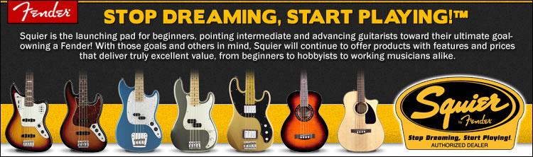 Squier Bass Guitars